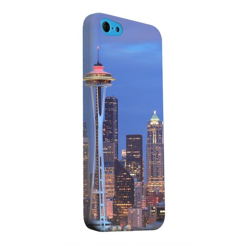 Geeks Designer Line (GDL) Apple iPhone 5C Matte Hard Back Cover - Seattle