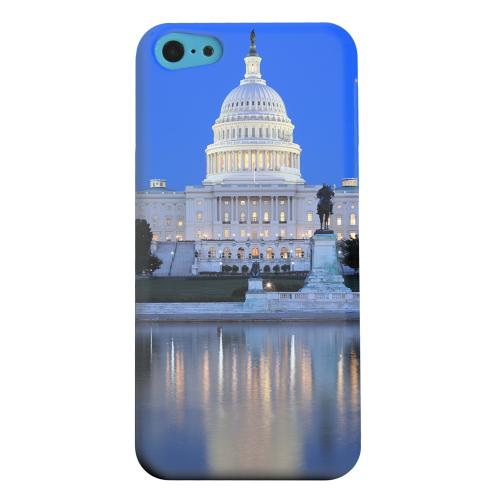 Geeks Designer Line (GDL) Apple iPhone 5C Matte Hard Back Cover - Washington D.C.