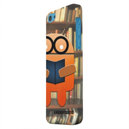 Geeks Designer Line (GDL) Apple iPhone 5C Matte Hard Back Cover - Studious Orange Robot