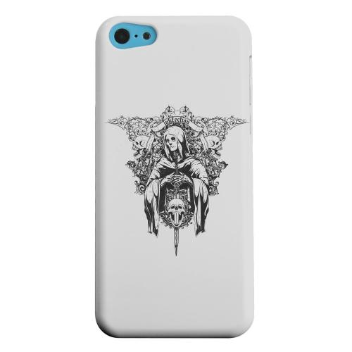 Geeks Designer Line (GDL) Apple iPhone 5C Matte Hard Back Cover - Inkfection on Gray