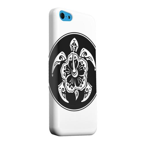 Geeks Designer Line (GDL) Apple iPhone 5C Matte Hard Back Cover - Island Turtle Solo