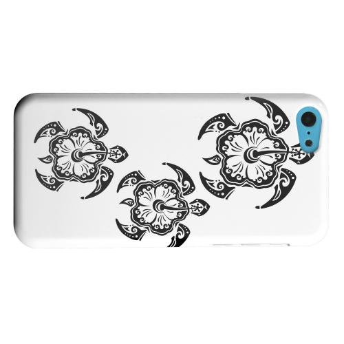 Geeks Designer Line (GDL) Apple iPhone 5C Matte Hard Back Cover - Island Turtle Trail