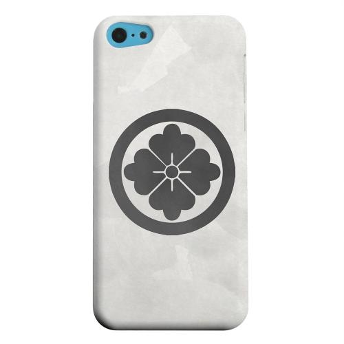 Geeks Designer Line (GDL) Apple iPhone 5C Matte Hard Back Cover - Hanabishi Kamon on Paper