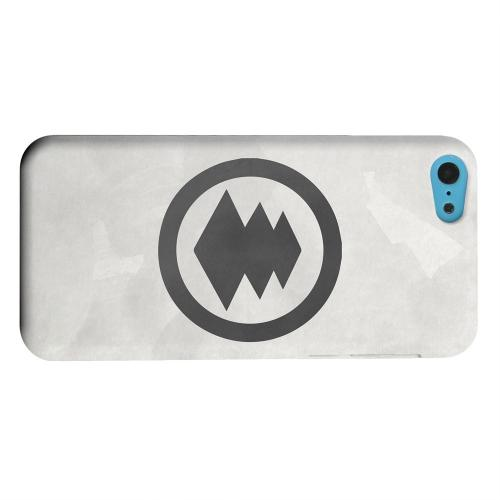 Geeks Designer Line (GDL) Apple iPhone 5C Matte Hard Back Cover - Hishi Kamon on Paper