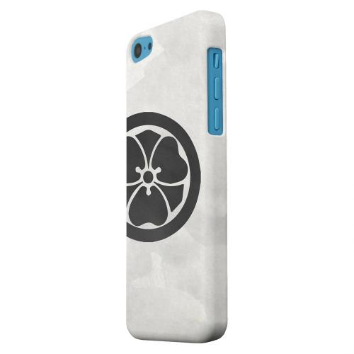 Geeks Designer Line (GDL) Apple iPhone 5C Matte Hard Back Cover - Katabami Kamon on Paper v.2