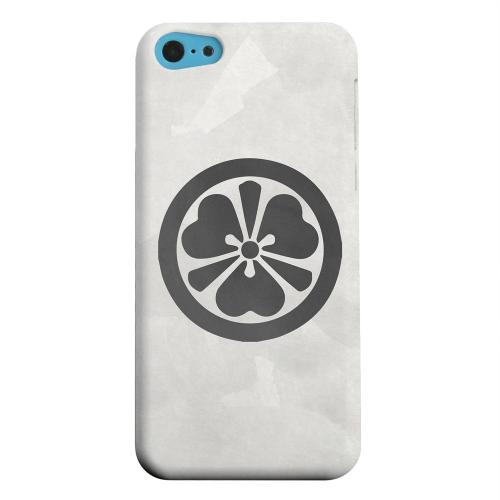 Geeks Designer Line (GDL) Apple iPhone 5C Matte Hard Back Cover - Katabami Kamon on Paper v.3