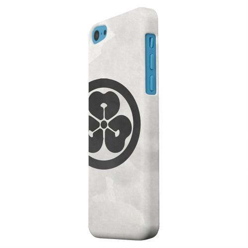 Geeks Designer Line (GDL) Apple iPhone 5C Matte Hard Back Cover - Katabami Kamon on Paper v.4