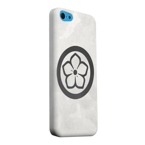 Geeks Designer Line (GDL) Apple iPhone 5C Matte Hard Back Cover - Kikyo Kamon on Paper v.4