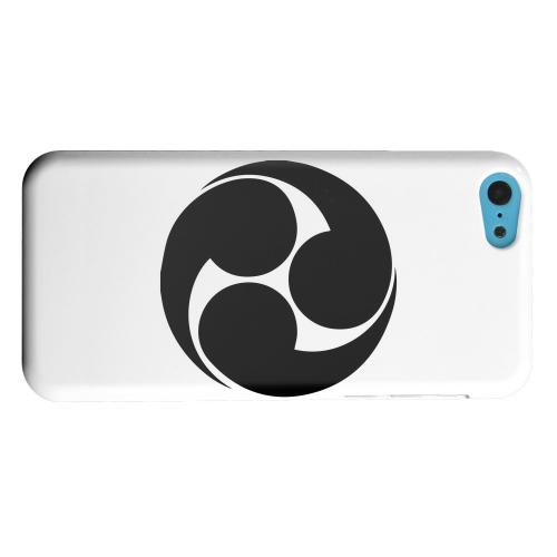Geeks Designer Line (GDL) Apple iPhone 5C Matte Hard Back Cover - Tomoe Kamon v.1