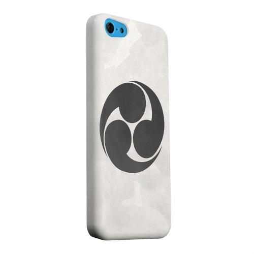 Geeks Designer Line (GDL) Apple iPhone 5C Matte Hard Back Cover - Tomoe Kamon on Paper v.1