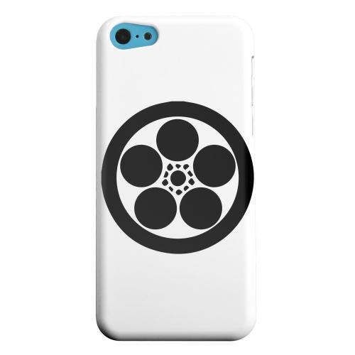 Geeks Designer Line (GDL) Apple iPhone 5C Matte Hard Back Cover - Umebachi Kamon v.1