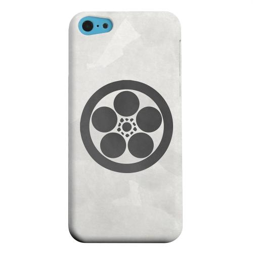 Geeks Designer Line (GDL) Apple iPhone 5C Matte Hard Back Cover - Umebachi Kamon on Paper v.1