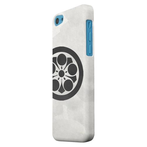 Geeks Designer Line (GDL) Apple iPhone 5C Matte Hard Back Cover - Umebachi Kamon on Paper v.2