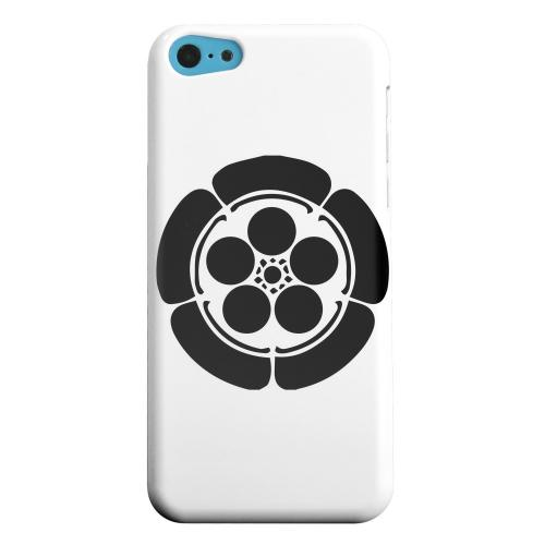 Geeks Designer Line (GDL) Apple iPhone 5C Matte Hard Back Cover - Umebachi Kamon v.4