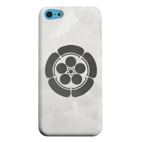 Geeks Designer Line (GDL) Apple iPhone 5C Matte Hard Back Cover - Umebachi Kamon on Paper v.4