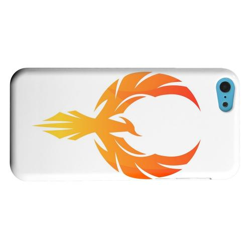 Geeks Designer Line (GDL) Apple iPhone 5C Matte Hard Back Cover - Phoenix Flame