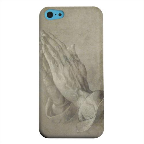 Geeks Designer Line (GDL) Apple iPhone 5C Matte Hard Back Cover - Albrecht Durer Praying Hands