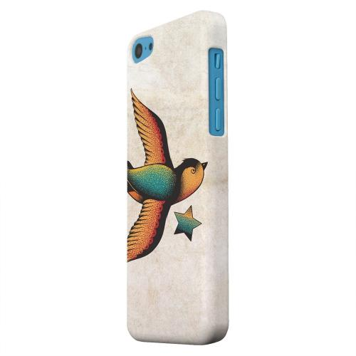 Geeks Designer Line (GDL) Apple iPhone 5C Matte Hard Back Cover - Swallow Star