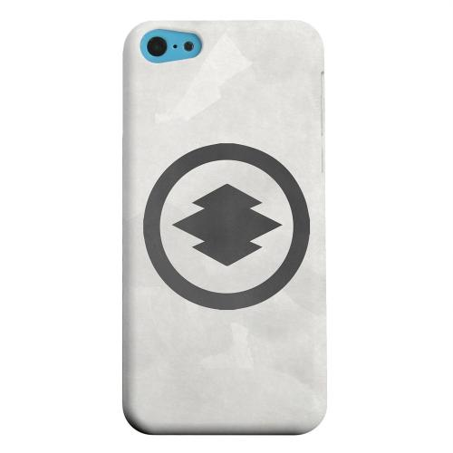 Geeks Designer Line (GDL) Apple iPhone 5C Matte Hard Back Cover - Hishi Kamon on Paper v.2