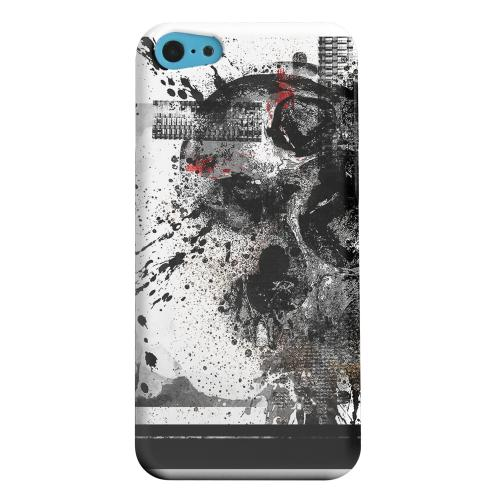 Geeks Designer Line (GDL) Apple iPhone 5C Matte Hard Back Cover - Collapse