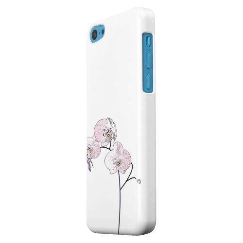 Geeks Designer Line (GDL) Apple iPhone 5C Matte Hard Back Cover - Lonely Orchid