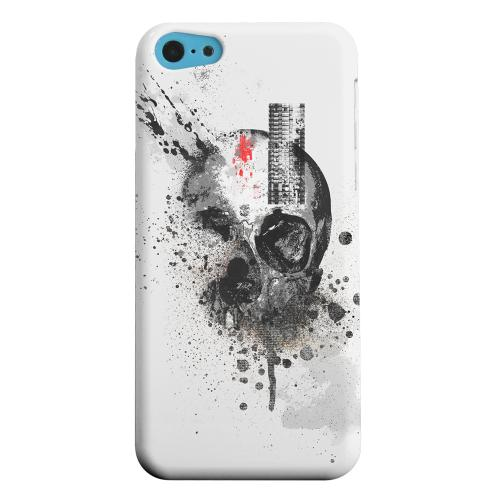 Geeks Designer Line (GDL) Apple iPhone 5C Matte Hard Back Cover - Deconstruction
