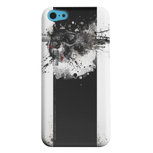 Geeks Designer Line (GDL) Apple iPhone 5C Matte Hard Back Cover - The Plague