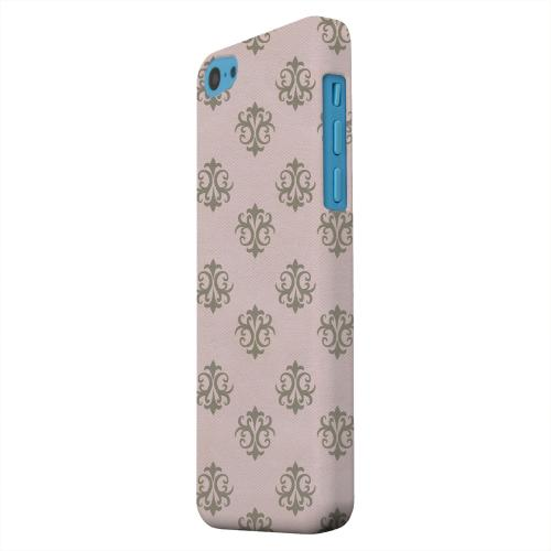 Geeks Designer Line (GDL) Apple iPhone 5C Matte Hard Back Cover - Ornamental African Violet