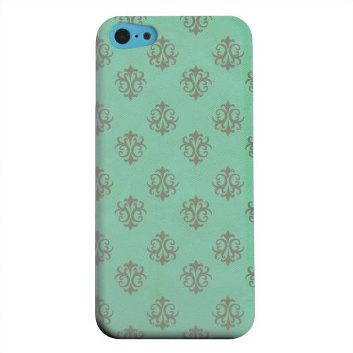 Geeks Designer Line (GDL) Apple iPhone 5C Matte Hard Back Cover - Ornamental Emerald