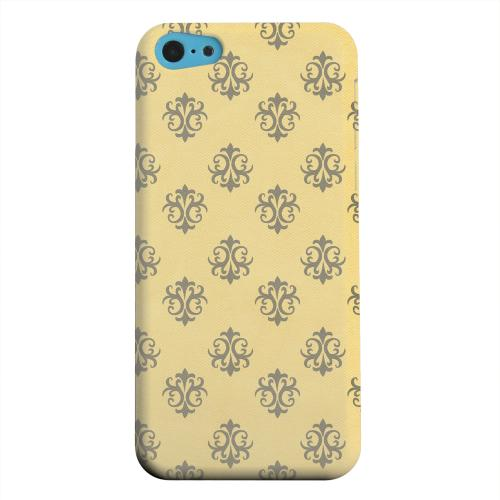 Geeks Designer Line (GDL) Apple iPhone 5C Matte Hard Back Cover - Ornamental Lemon Zest