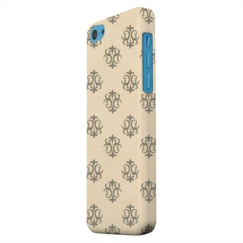 Geeks Designer Line (GDL) Apple iPhone 5C Matte Hard Back Cover - Ornamental Linen
