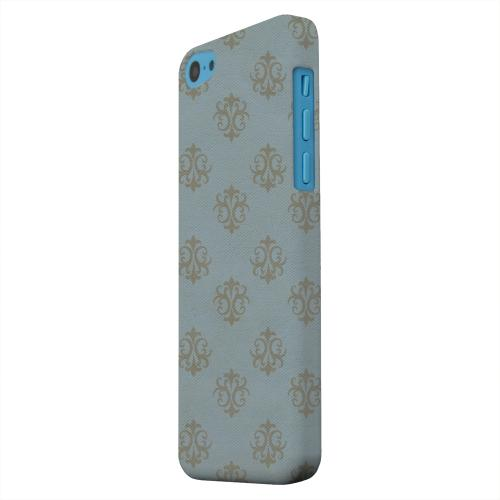 Geeks Designer Line (GDL) Apple iPhone 5C Matte Hard Back Cover - Ornamental Monaco Blue