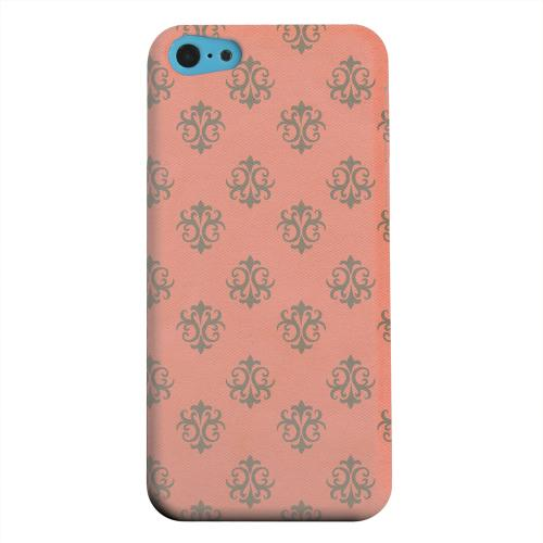 Geeks Designer Line (GDL) Apple iPhone 5C Matte Hard Back Cover - Ornamental Poppy Red
