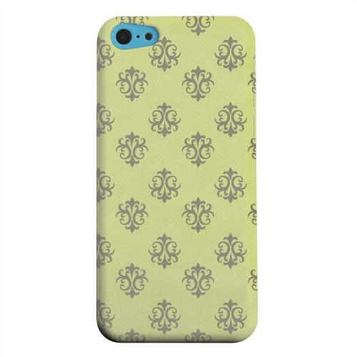 Geeks Designer Line (GDL) Apple iPhone 5C Matte Hard Back Cover - Ornamental Tender Shoots