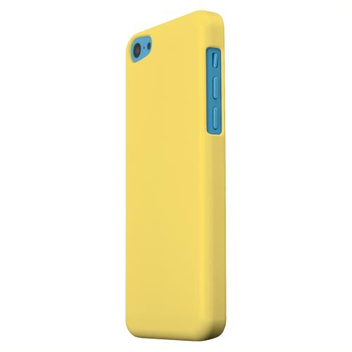Geeks Designer Line (GDL) Apple iPhone 5C Matte Hard Back Cover - S13 Pantone Lemon Zest