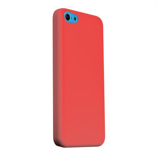 Geeks Designer Line (GDL) Apple iPhone 5C Matte Hard Back Cover - S13 Pantone Poppy Red