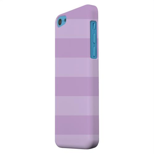 Geeks Designer Line (GDL) Apple iPhone 5C Matte Hard Back Cover - Stripes African Violet