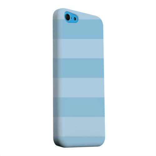 Geeks Designer Line (GDL) Apple iPhone 5C Matte Hard Back Cover - Stripes Dusk Blue
