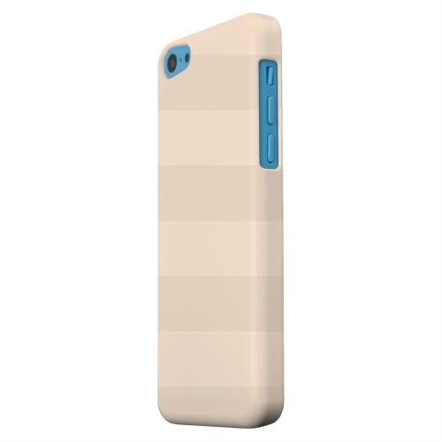 Geeks Designer Line (GDL) Apple iPhone 5C Matte Hard Back Cover - Stripes Linen