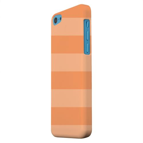 Geeks Designer Line (GDL) Apple iPhone 5C Matte Hard Back Cover - Stripes Nectarine