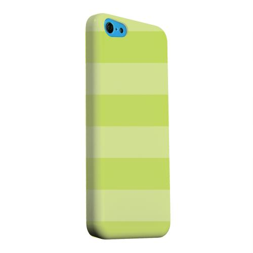 Geeks Designer Line (GDL) Apple iPhone 5C Matte Hard Back Cover - Stripes Tender Shoots