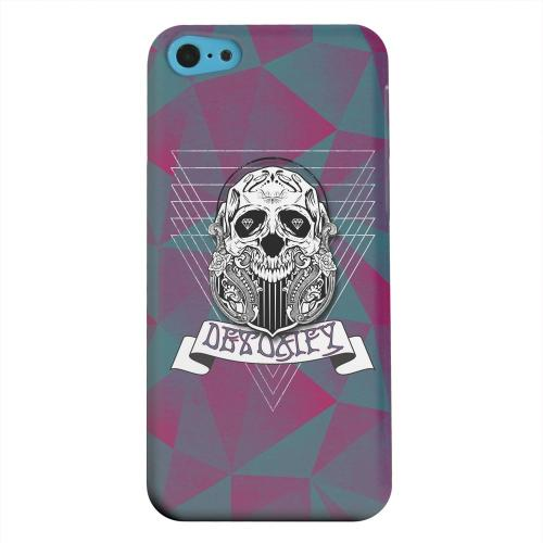 Geeks Designer Line (GDL) Apple iPhone 5C Matte Hard Back Cover - Detoxify
