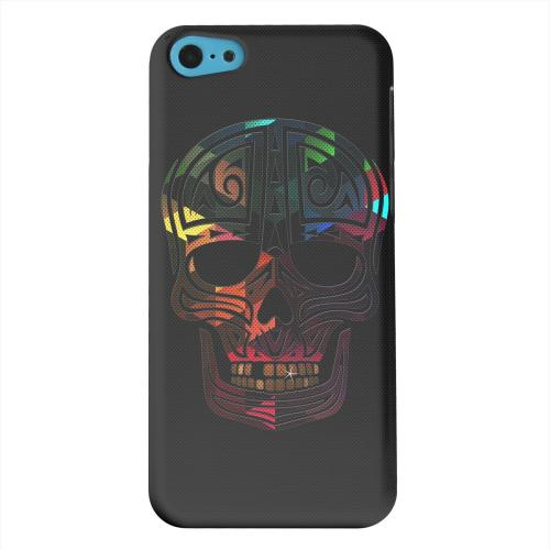 Geeks Designer Line (GDL) Apple iPhone 5C Matte Hard Back Cover - Rapero Muerto Geometric Color on Mesh