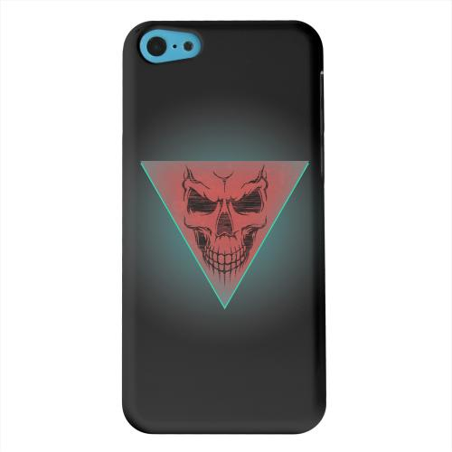 Geeks Designer Line (GDL) Apple iPhone 5C Matte Hard Back Cover - Dead Triangle
