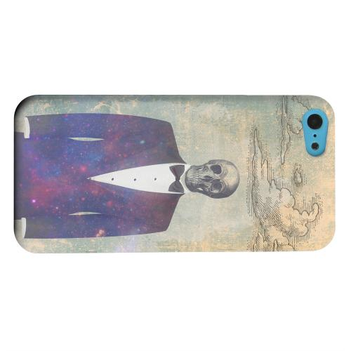Geeks Designer Line (GDL) Apple iPhone 5C Matte Hard Back Cover - Deathbonair