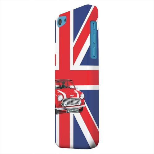 Geeks Designer Line (GDL) Apple iPhone 5C Matte Hard Back Cover - Solo Mini Cooper on Union Jack