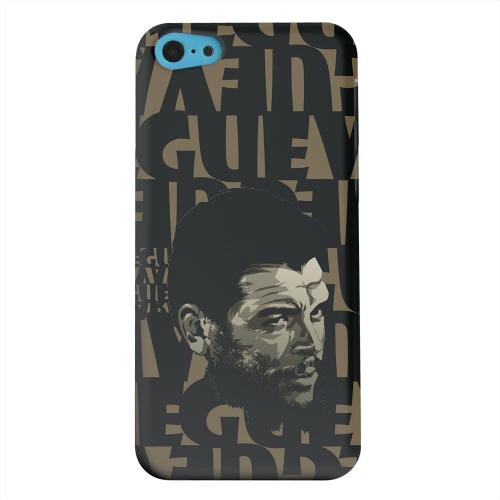 Geeks Designer Line (GDL) Apple iPhone 5C Matte Hard Back Cover - Che Guevara Serious Man on Brown