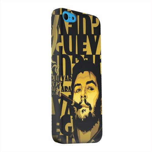 Geeks Designer Line (GDL) Apple iPhone 5C Matte Hard Back Cover - Che Guevara Smoke Gold