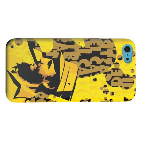 Geeks Designer Line (GDL) Apple iPhone 5C Matte Hard Back Cover - Yellow Fidelity