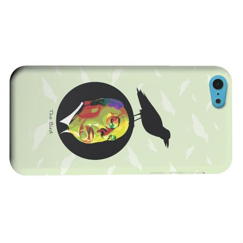 Geeks Designer Line (GDL) Apple iPhone 5C Matte Hard Back Cover - Hitchcock Birds